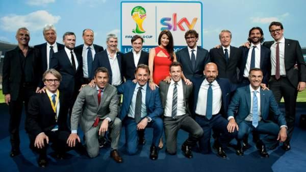 La nazionale di Sky per i Mondiali 2014
