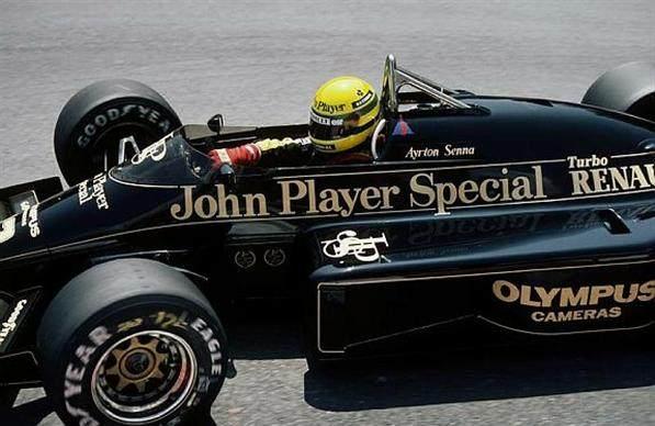 Lotus - Ayrton Senna