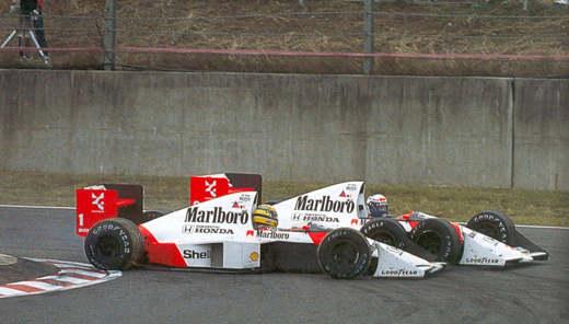 Senna e la rivalità con Prost