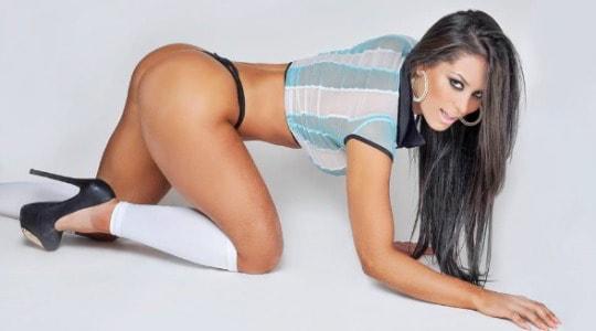 """fabi argentina - Fabi Martinez, come Larissa Riquelme, è la nuova """"Musa del Mondiale Brasiliano"""""""