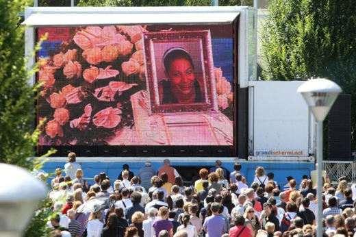 I funerali di Yara Gambirasio