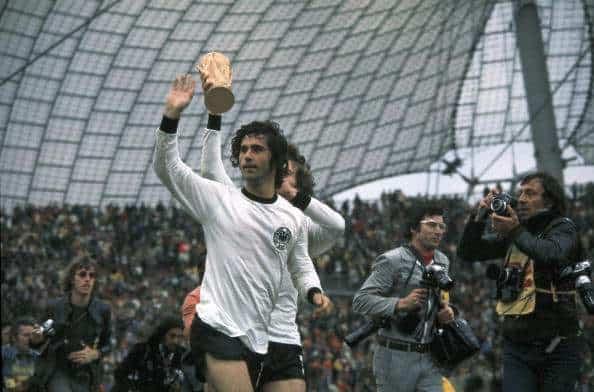 Gerd Muller campione del Mondo