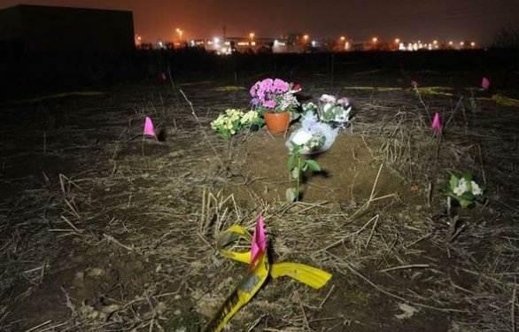 Il luogo dove è stato ritrovato corpo di Yara Gambirasio