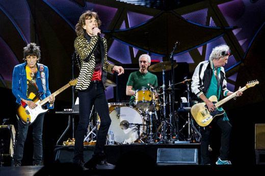 Rolling Stones al circo massimo di Roma