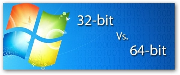 32 bit vs 64 bit Windows