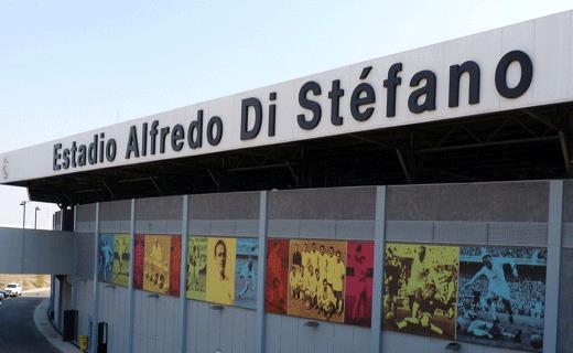 Lo stadio dedicato ad Alfredo Di Stefano