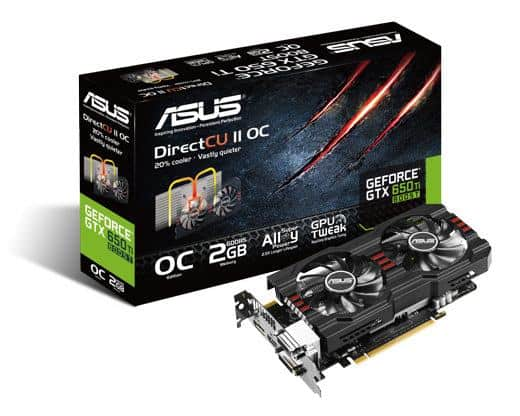 GeForce GTX650 Ti BOOST