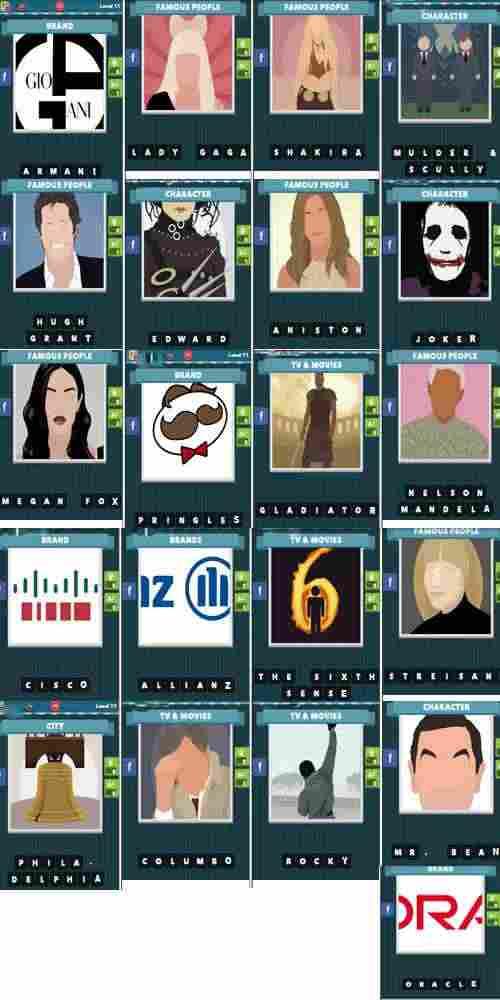 ICOMANIA SOLUZIONE LIVELLO 11 2 - Icomania: tutte le soluzioni dal livello 11 al livello 17 per Android e iPhone