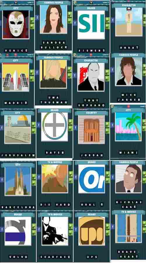 ICOMANIA SOLUZIONE LIVELLO 11 - Icomania: tutte le soluzioni dal livello 11 al livello 17 per Android e iPhone