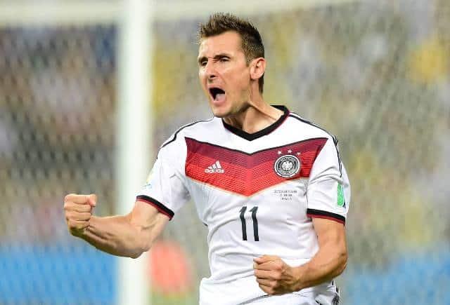 Klose capocannoniere Mondiali 2014