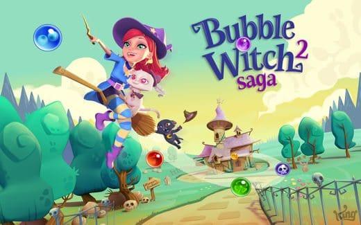 Le soluzioni di Bubble Witch Saga 2