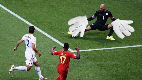 Tim Howard il portiere paratutto dei Mondiali 2014