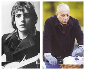 Syd Barrett calvo e obeso