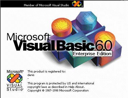 Visual Basic 6 Enterprise Edition
