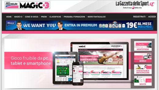 Magic +3 Gazzetta dello Sport