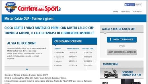 Magic Calcio Cup Corriere dello Sport