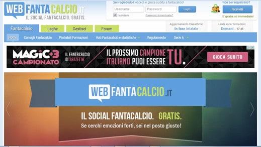 WebFantacalcio