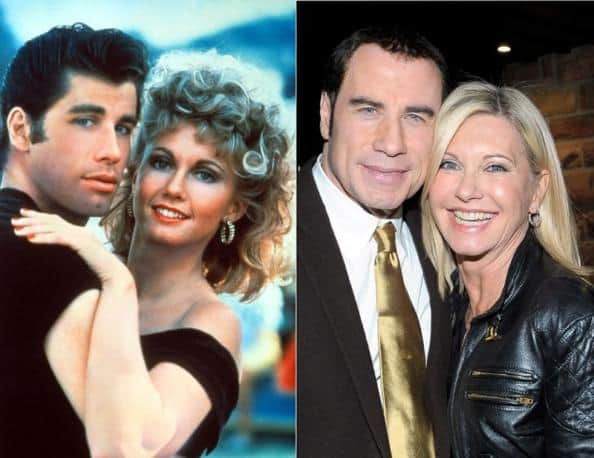 John Travolta e Olivia Newton John oggi