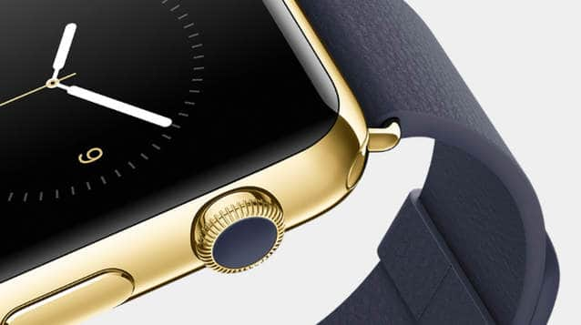Corona dell'Apple Watch