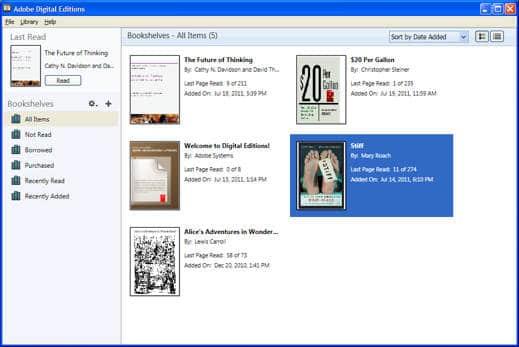 Editions pdf digital adobe