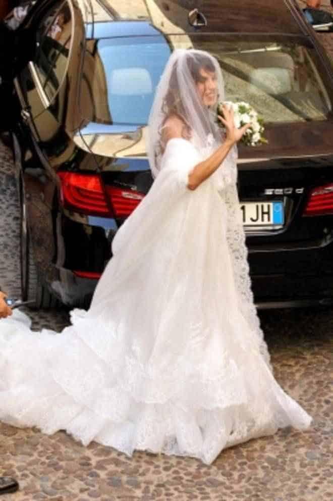 Elisabetta Canalis si è sposata