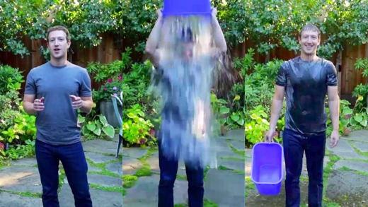 Mark Zuckerberg e l'Ice Bucket Challenge