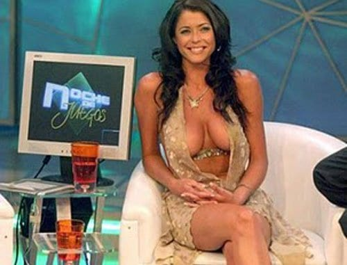 Pamela David conduttrice TV