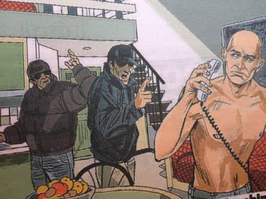 Pantani al telefono