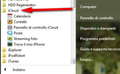 Trova il mio iPhone in iCloud