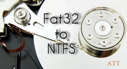 Da FAT A NTFS