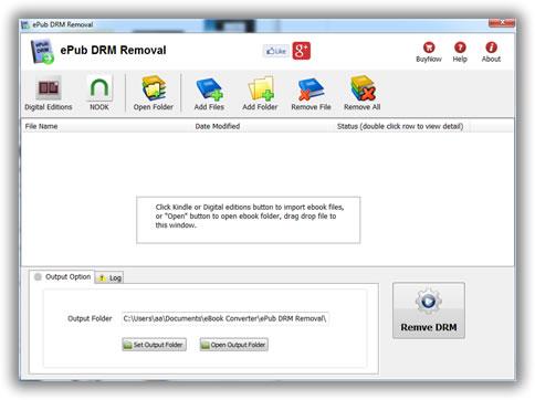 ePubDRMRemova - Come convertire un eBook da ACSM a ePub e PDF