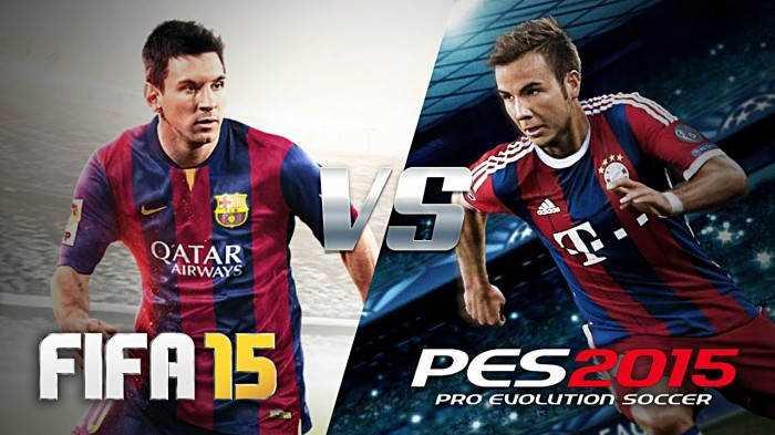 FIFA 15 VS PES 2105