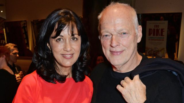 Polly Samson e David Gilmour