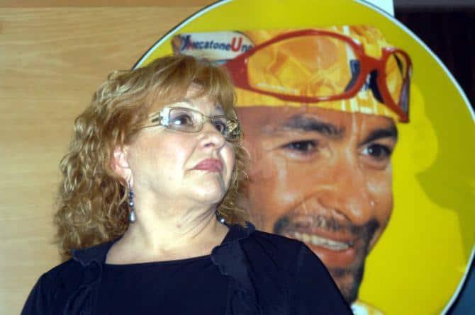 Tonina e Marco Pantani