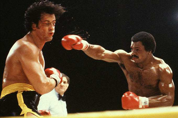 Rocky e Apollo Creed