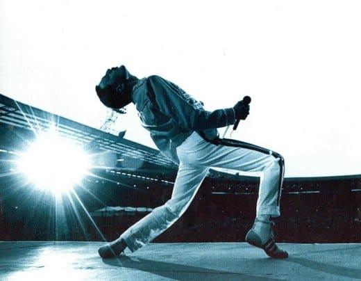 Freddie Mercury live a Wembley
