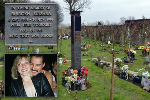 L'ipotetica tomba di Freddie Mercury