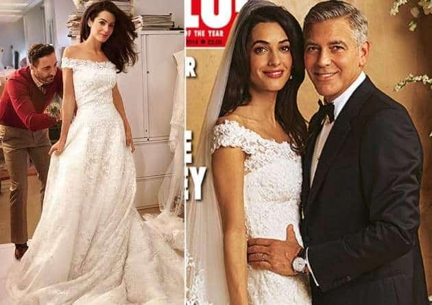 Clooney e Amal sposi sui giornali
