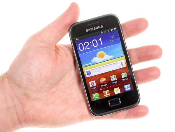 Samsung Galaxy Ace Plus S7500