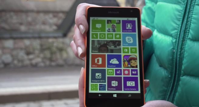 Lumia 535 caratteristiche tecniche