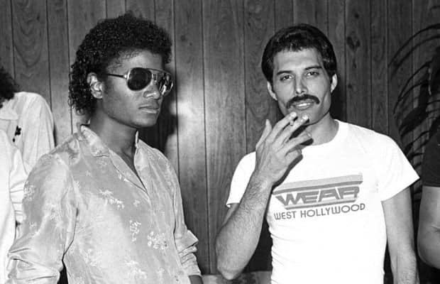 Freddie Mercury e Michael Jackson
