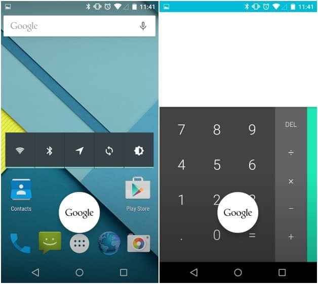 Android Lollipop telefono