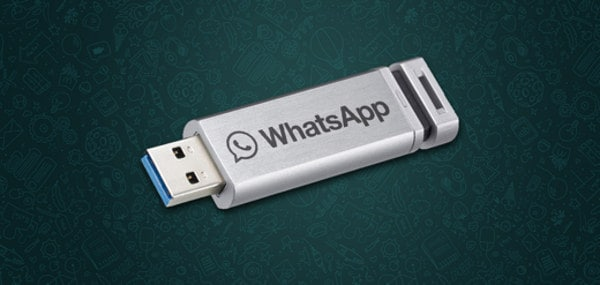 WhatsApp su chiavetta USB