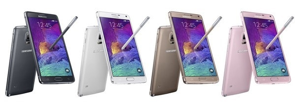 Vari colori Samsung Galaxy Note 4