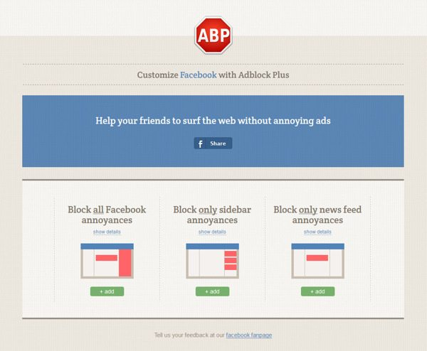 AdBlock tipologie