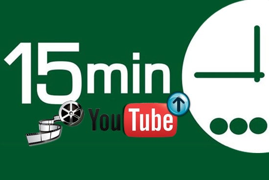 Upload video oltre i 15 minuti