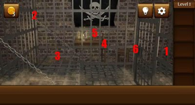 1 pirate escape - Le soluzioni di Pirate Escape