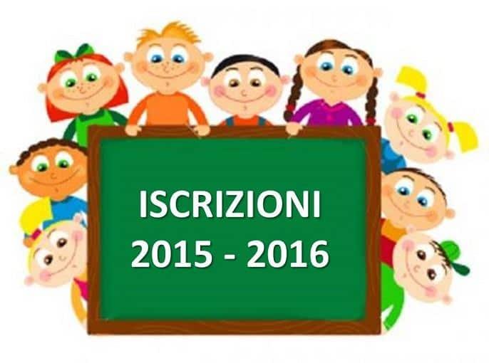 Iscrizioni Scuola 2015-2016