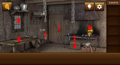 4 pirate escape - Le soluzioni di Pirate Escape