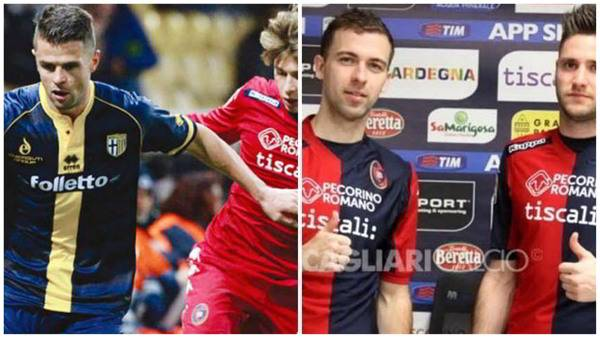 Parma e Cagliari i neo acquisti